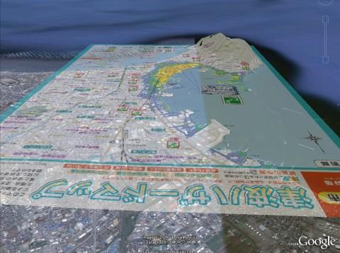 函館津波ハザードマップ